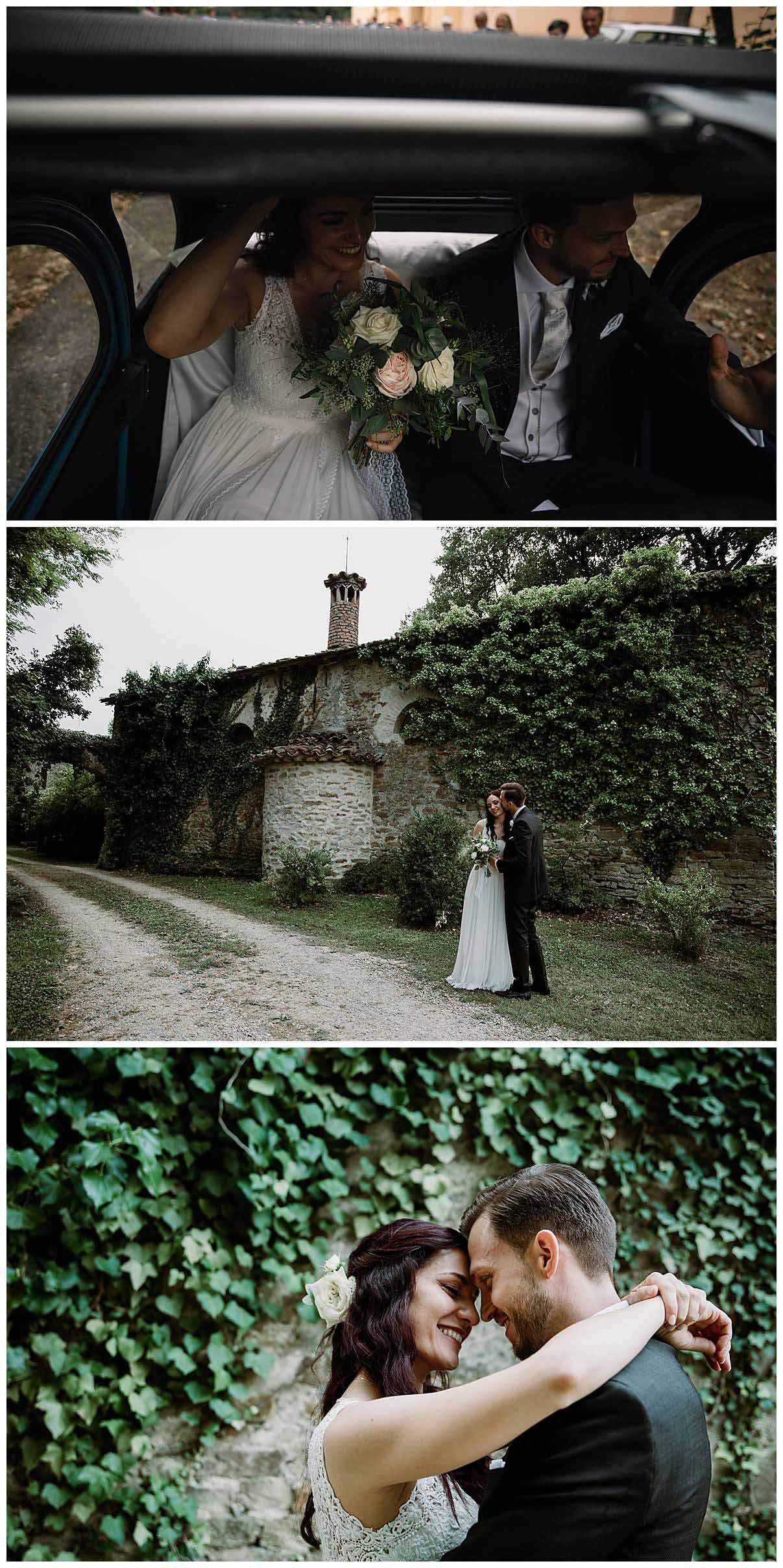 Matrimonio ai Casolari del Parco